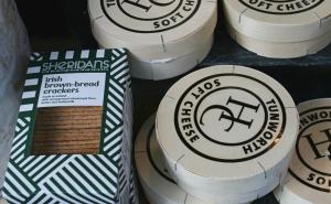 soft cheese and irish crackers