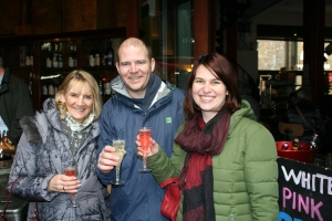 cheersing at borough market