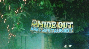 hideout restaurant and bar in benaulim beach goa india