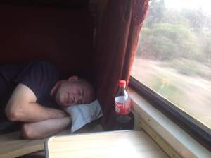 sleeping train india