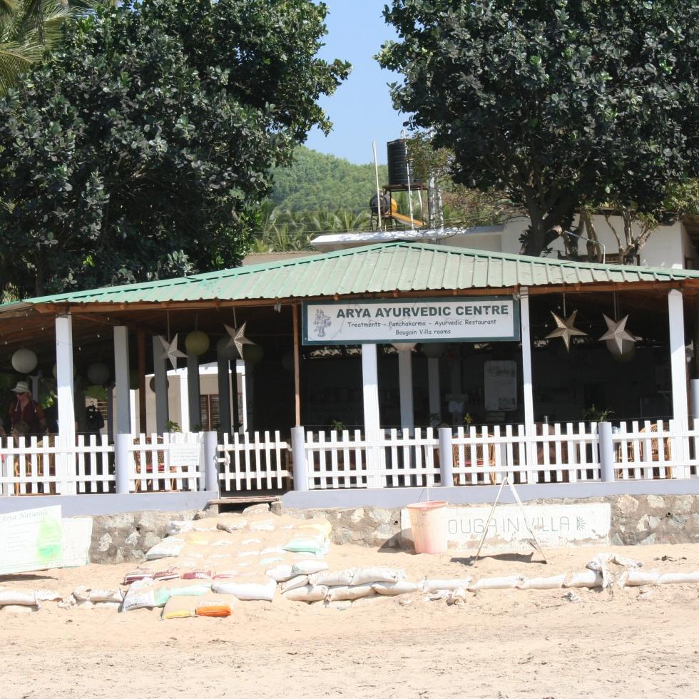 ayurvedic spa kudle beach gokarna karnataka india travel