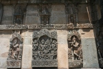 stone carvings temple karnataka india travel
