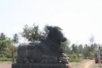 bull statue india