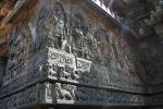 halebid temple sculptures carvings karnataka india travel