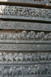 stone carvings temple halebid karnataka india travel