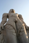 statue jain temple karnataka india travel
