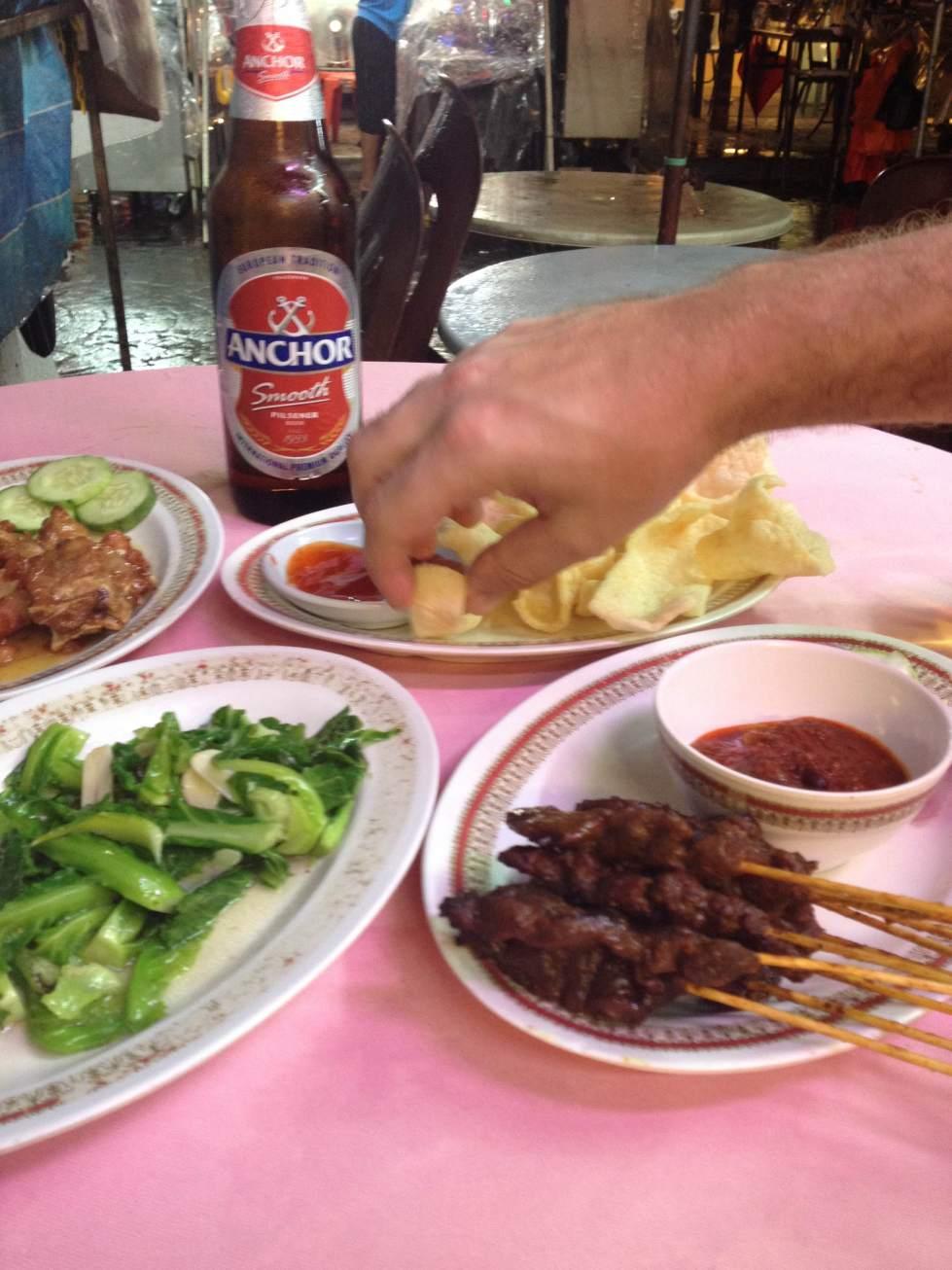 chinese food chinatown kuala lumpur malaysia