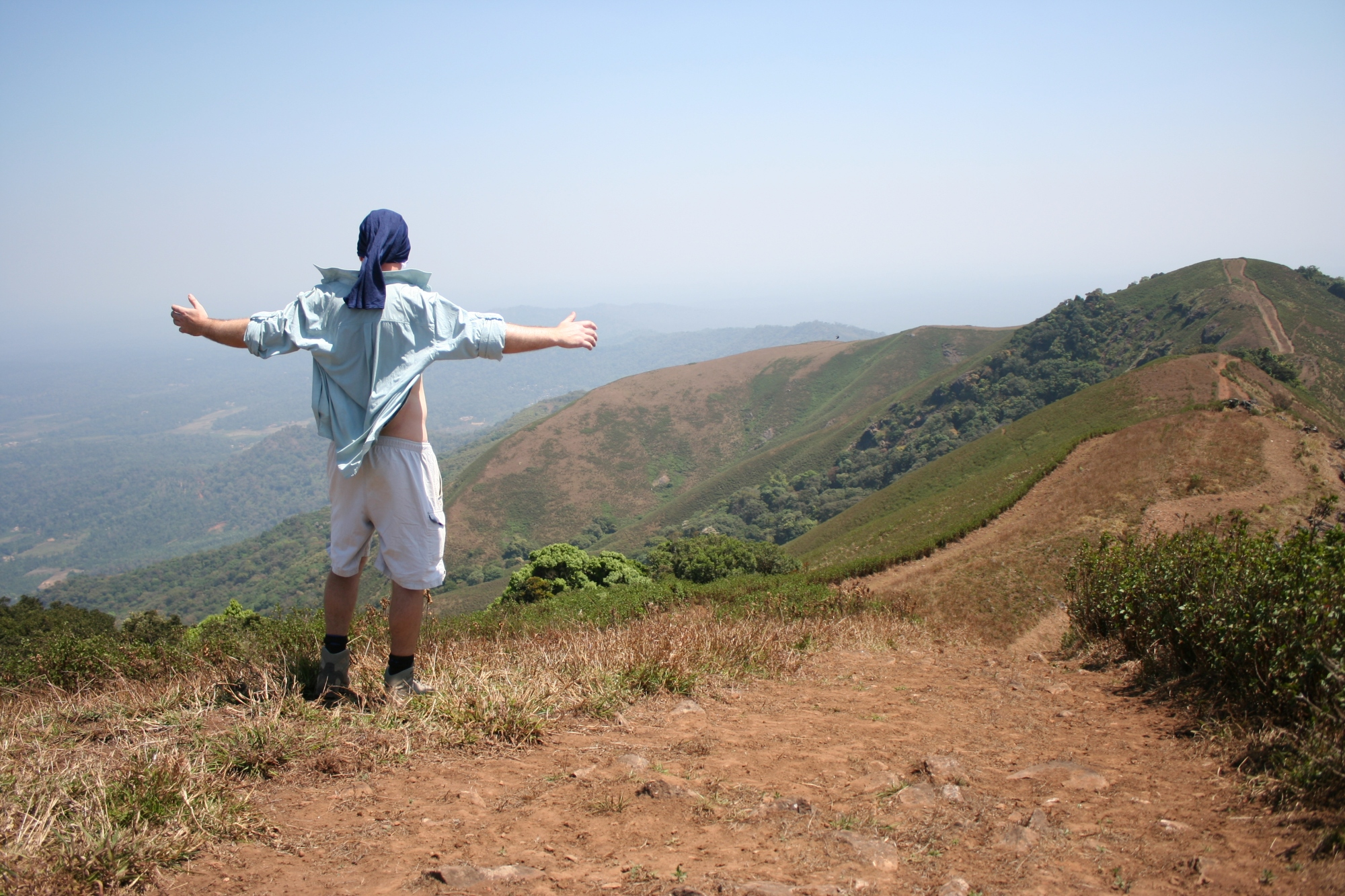 wayanad hike kerala india travel nature
