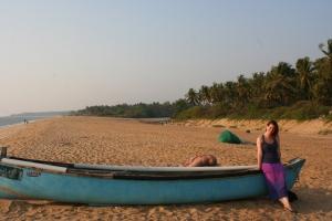 boat bekal beach kerala india