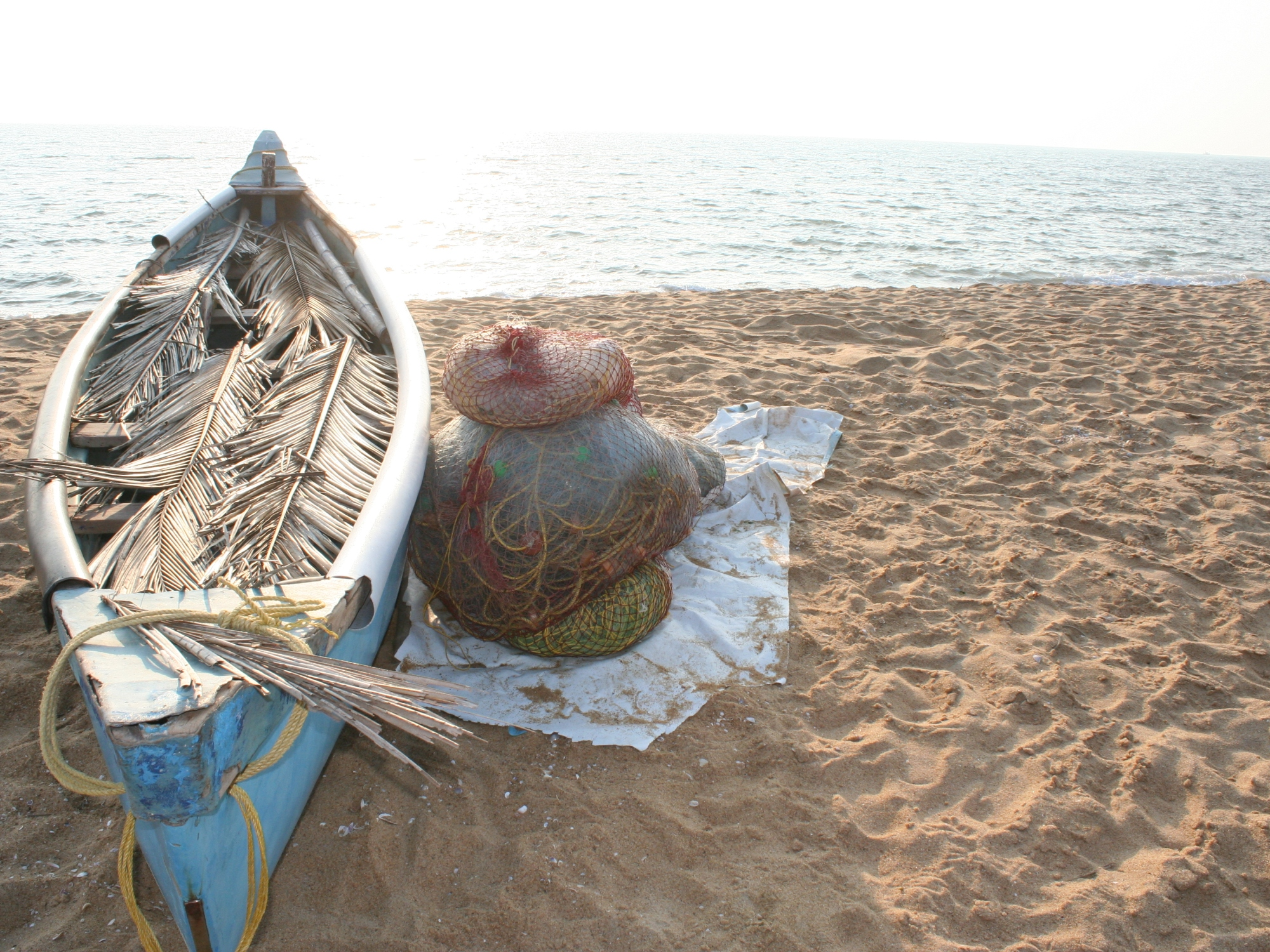 boat bekal beach kerala india