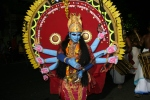 vishnu hindu festival parade kerala india