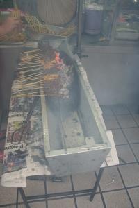smoky satay street food kuala lumpur malaysia
