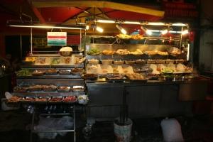 street food chinatown kuala lumpur jalan petaling food travel malaysia