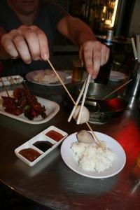 chopsticks street food kuala lumpur chinatown malaysia travel