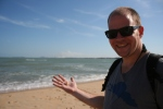 seashells beach cherating malaysia