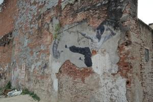 street art penang malaysia bruce lee cat