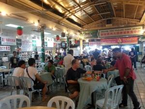 food court chinatown kuala lumpur malaysia