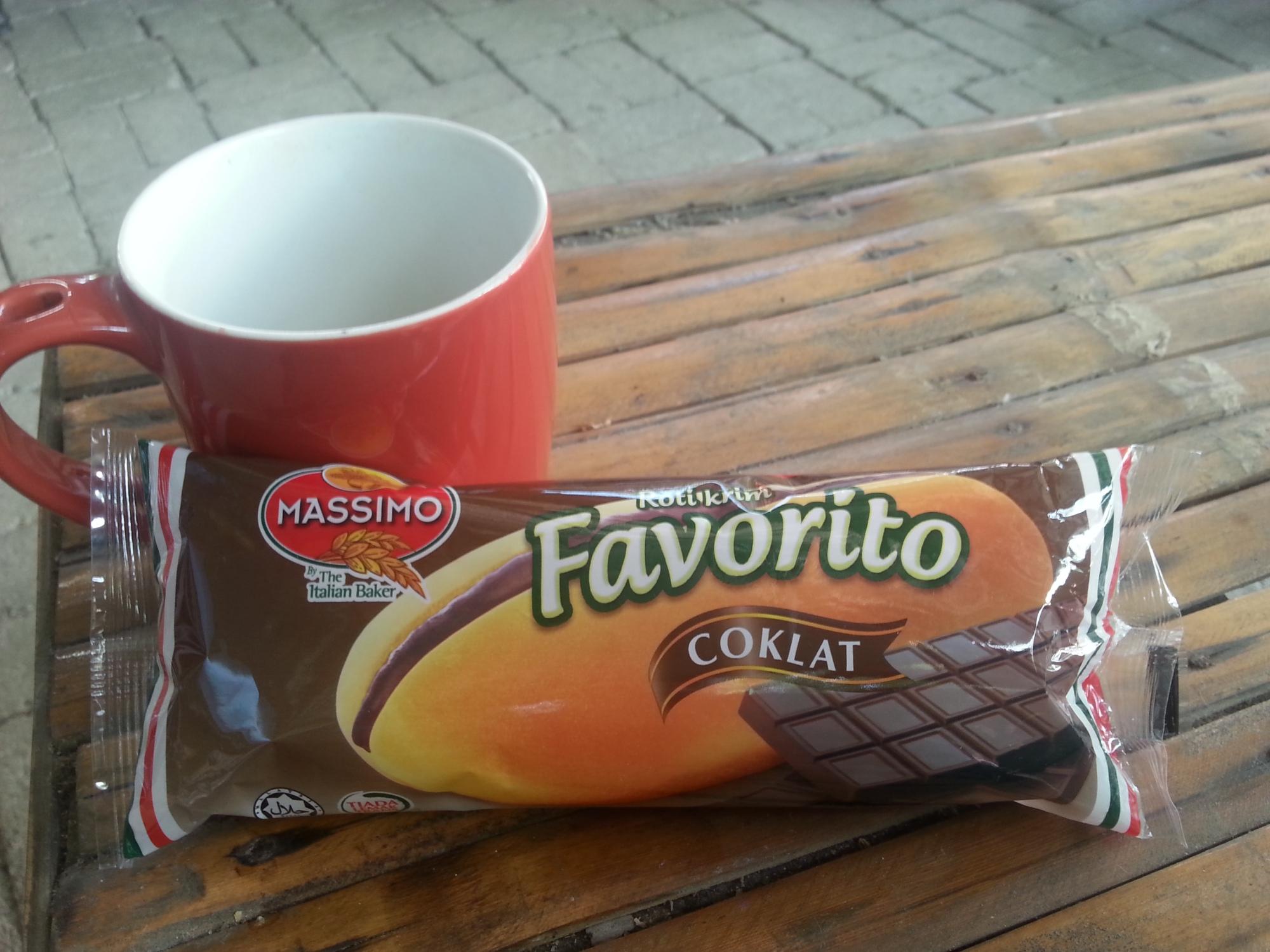 favorito chocolate snack malaysia food