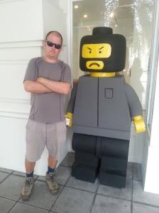 lego sculpture art penang malaysia
