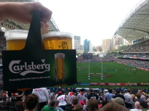 hong kong rugby 7s beer