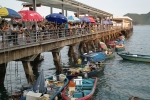 hong kong fishing boats