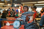 fish market kota kinabalu sabah borneo malaysia travel