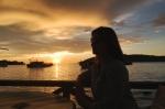 emer schlosser sunset kota kinabalu sabah borneo malaysia travel