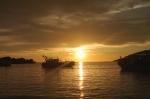 sunset kota kinabalu sabah borneo malaysia travel