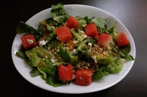 watermelon feta salad mad ben restaurant kota kinabalu sabah borneo malaysia food