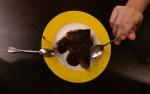 chocolate cake dessert food mad ben restaurant kota kinabalu malaysia