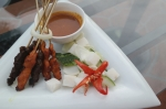 satay food kota kinabalu sabah borneo malaysia travel