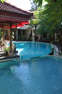 flora kuta hotel swimming pool travel bali