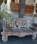bench flora kuta hotel bali indonesia