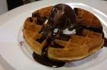 flapjacks chocolate waffle