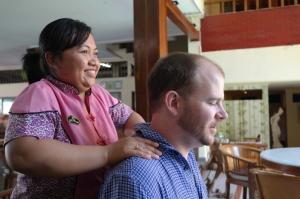 pre meal massage kuta bali travel
