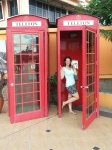 emer schlosser red phone booth borneo malaysia travel