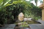sarinbuana eco lodge bale indonesia travel buddha statue fountain
