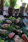 sarinbuana eco lodge bale indonesia travel salad food