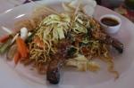 travel Ubud Bali Indonesia food satay