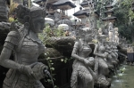 travel Ubud Bali Indonesia Gunung Lebah Temple fountain statues