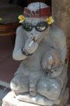ubud bali indonesia travel statue
