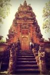 ubud bali indonesia travel sarawati temple