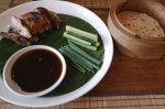 peking duck ginger moon restaurant seminyak bali indonesia food travel