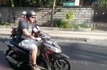 scooter seminyak bali indonesia