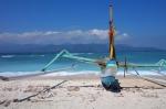 travel gili t island lombok indonesia beach boat