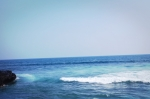 ocean echo beach bali indonesia travel water