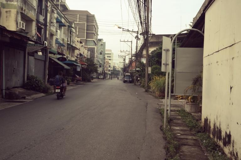 Hat Yai THailand travel street