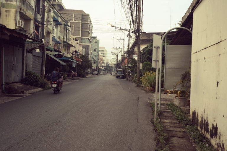 Hat Yai THailand travel street