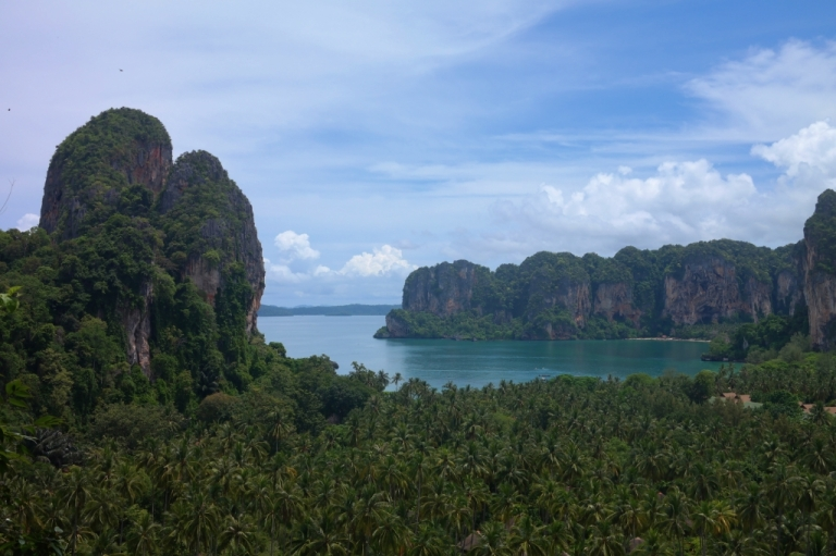 railay beach krabi thailand travel
