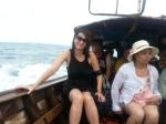 wet boat ride in thailand